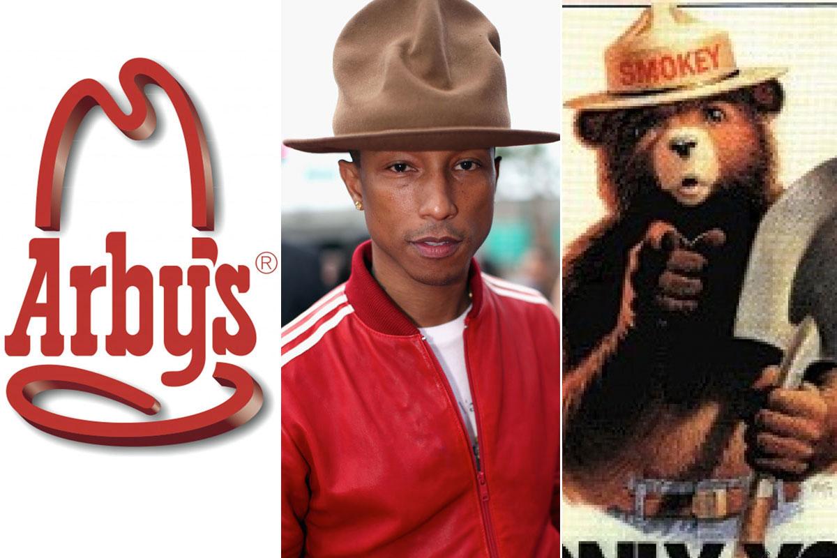 54364d8b8a539 arbys bought pharrell s hat – Music Row Girl