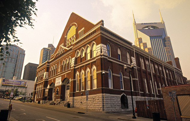 Ryman Auditorium, Nashville, Tennessee, USA