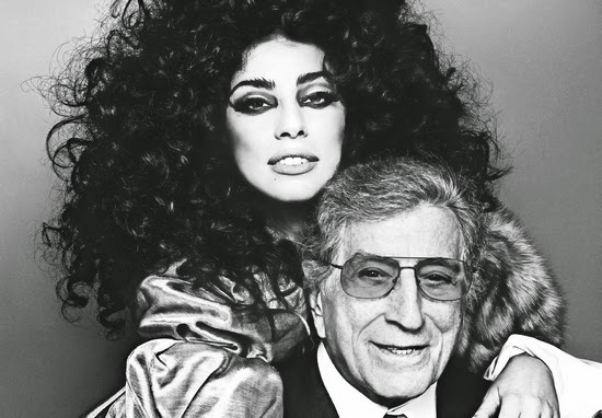 tony bennett lady gaga cheek