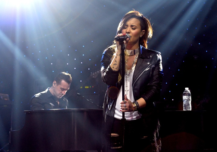 Demi Lovato For iHeartRadio Live