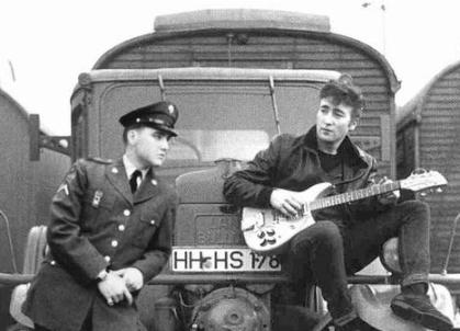 John Lennon and Elvis