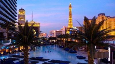 Cosmopolitan Las Vegas, pool, skyline