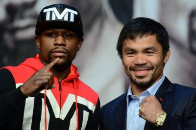 Floyd-Mayweather-and-Manny-Pacquiao-press-conference